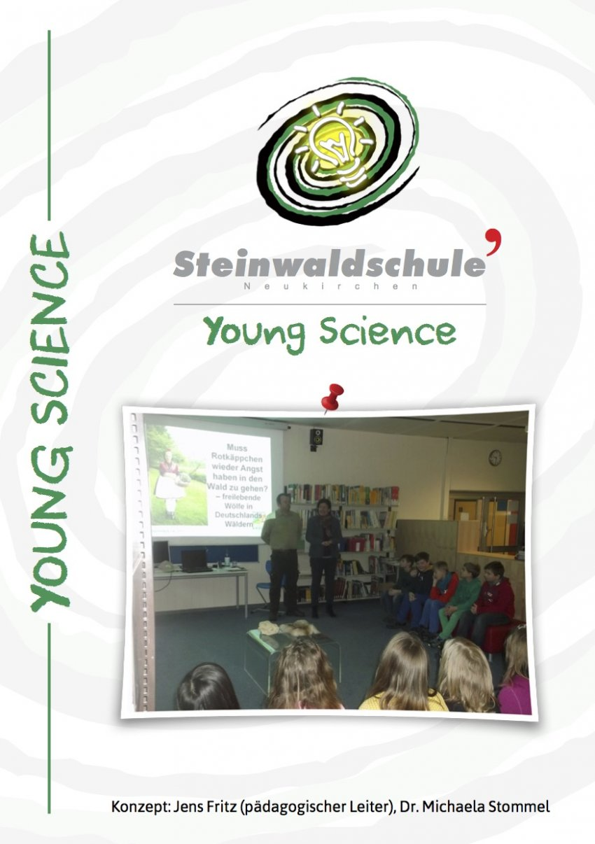 "Symbolbild Flyer ""Young Science"""
